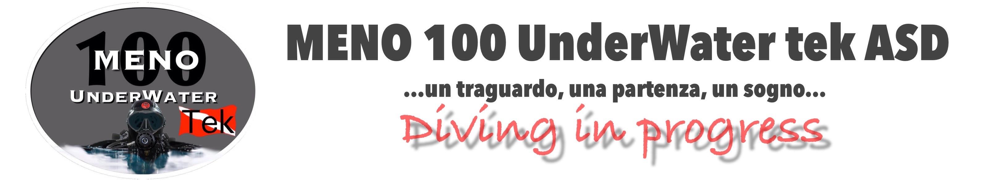 Meno 100 UnderWater tek ASD